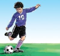 Rochester Elks hold annual youth Soccer Shoot